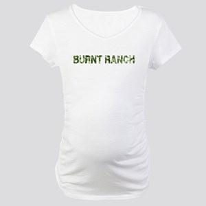 Burnt Ranch, Vintage Camo, Maternity T-Shirt