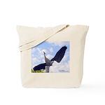 Curious Bird Tote Bag
