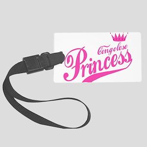 Congolese Princess Large Luggage Tag