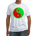 Alien Yin-Yang Fitted T-Shirt
