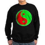 Alien Yin-Yang Sweatshirt (dark)