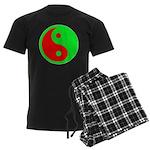 Alien Yin-Yang Men's Dark Pajamas