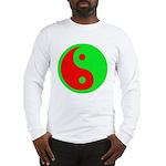 Alien Yin-Yang Long Sleeve T-Shirt