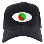 Alien Yin-Yang Black Cap