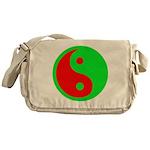 Alien Yin-Yang Messenger Bag