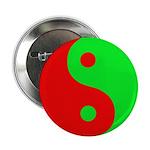 """Alien Yin-Yang 2.25"""" Button (10 pack)"""