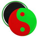 """Alien Yin-Yang 2.25"""" Magnet (100 pack)"""