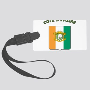 Cote d'Ivoire Large Luggage Tag