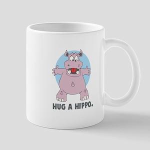 Hug a Hippo Mug