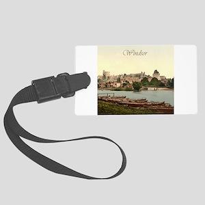 Vintage Windsor Castle Large Luggage Tag