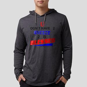 U dont.10x10plain Mens Hooded Shirt