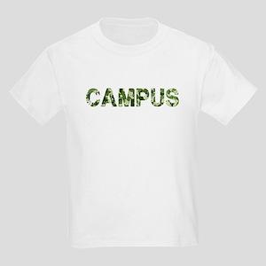 Campus, Vintage Camo, Kids Light T-Shirt