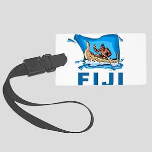 Fiji Large Luggage Tag