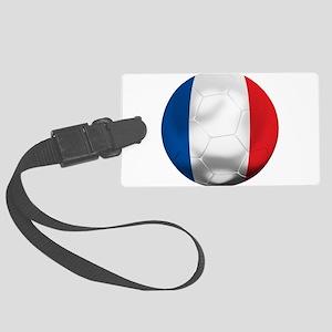 France Football Large Luggage Tag