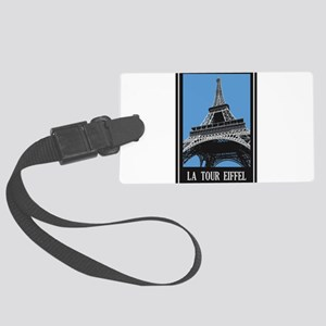 La Tour Eiffel Large Luggage Tag