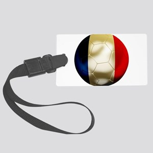 France World Cup Large Luggage Tag
