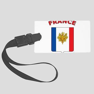 France Large Luggage Tag