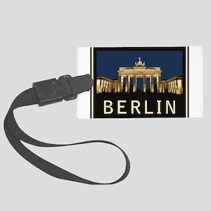 Berlin Brandenburg Gate Large Luggage Tag