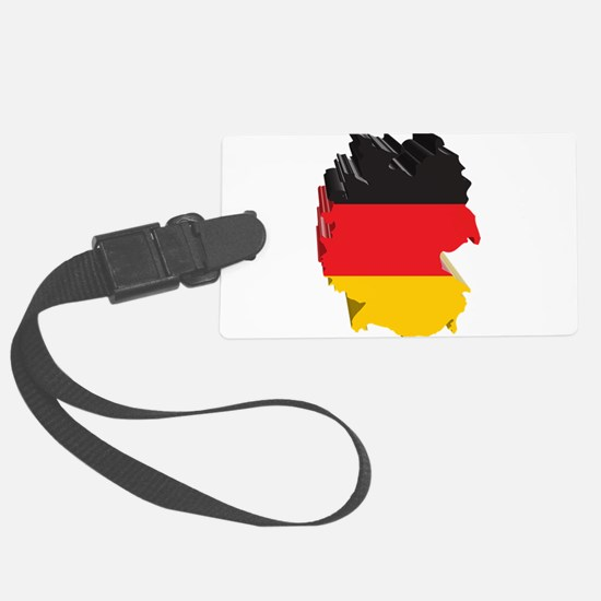 3D Map Of Germany Luggage Tag