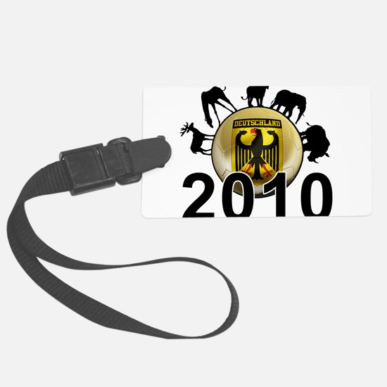 Germany World Cup 2010 Luggage Tag