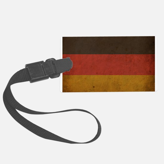 Vintage Germany Flag Luggage Tag
