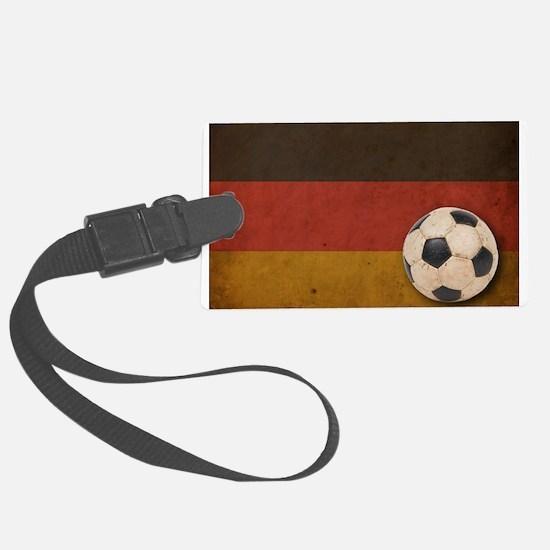 Vintage Germany Football Luggage Tag