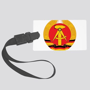 East Germany Large Luggage Tag