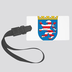 Hesse Coat Of Arms Large Luggage Tag