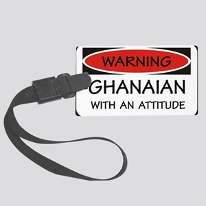 Attitude Ghanaian Large Luggage Tag