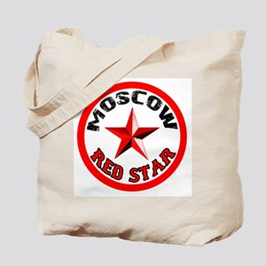 MOSCOW Red Star Tote Bag