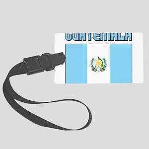 Guatemala Flag Large Luggage Tag
