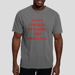 chicken Mens Comfort Colors Shirt