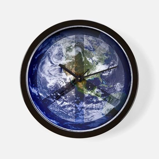 EarthPeace Wall Clock
