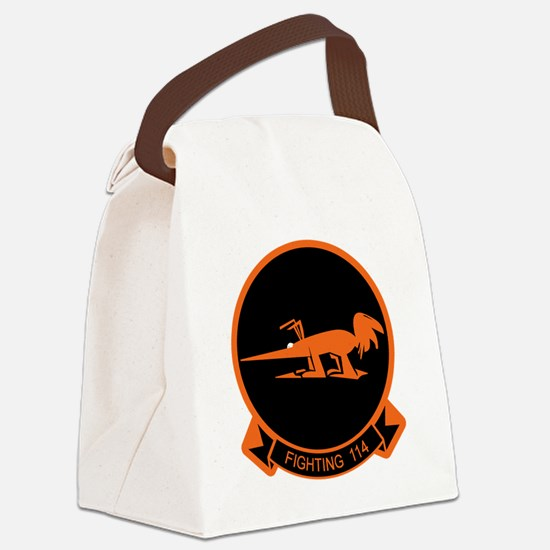 Newlogo114.png Canvas Lunch Bag
