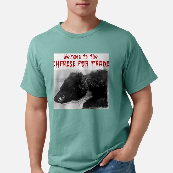 dogfur.jpg Mens Comfort Colors Shirt