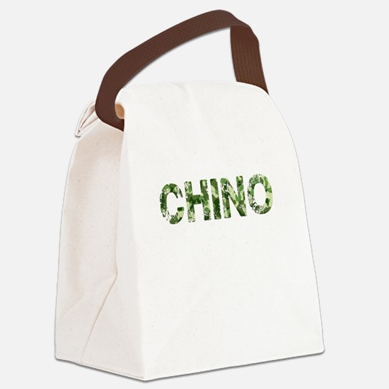Chino, Vintage Camo, Canvas Lunch Bag