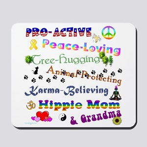 HippieGrandma Mousepad