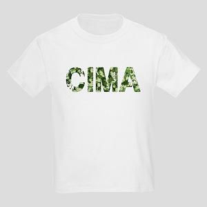 Cima, Vintage Camo, Kids Light T-Shirt