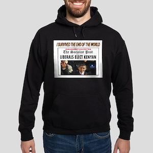 OBAMA ELECTION Hoodie (dark)