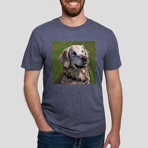 aldo draw  16x16 Mens Tri-blend T-Shirt
