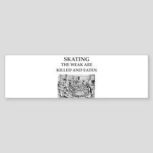 skating Sticker (Bumper)