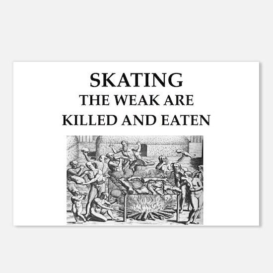 skating Postcards (Package of 8)