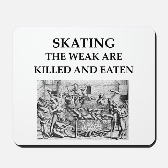 skating Mousepad