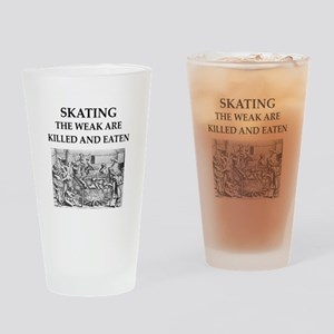 skating Drinking Glass