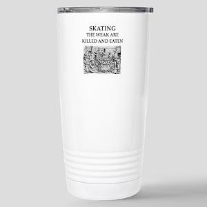 skating Stainless Steel Travel Mug