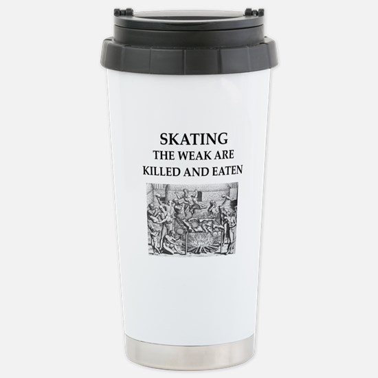 skating Stainless Steel Travel Mug