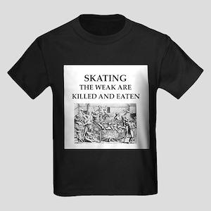 skating Kids Dark T-Shirt