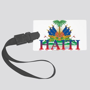 3D Haiti Large Luggage Tag
