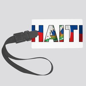 Haiti Large Luggage Tag