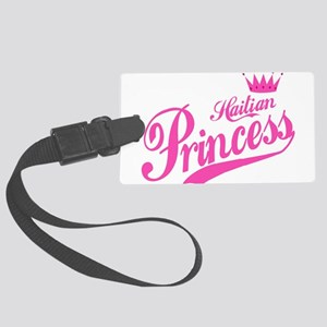 Haitian Princess Large Luggage Tag